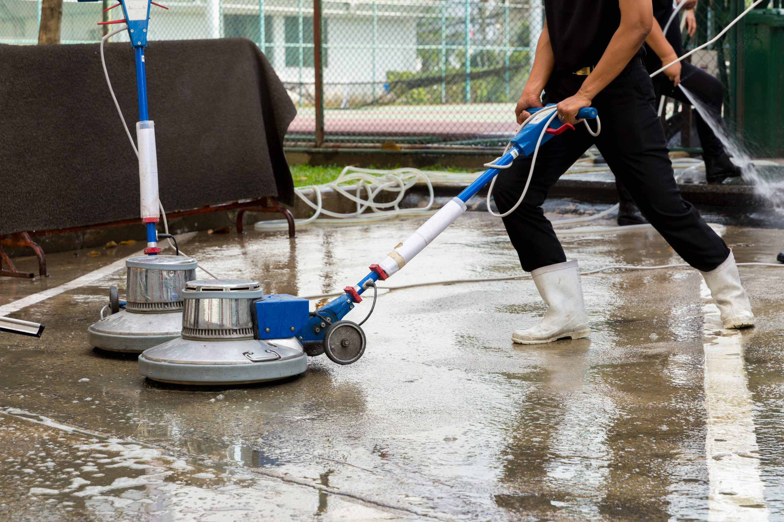 Steam Cleaning - Welcome Building Maintenance Service : Welcome